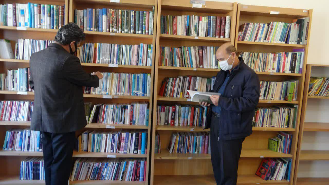 کتابخانه کانون فرهنگی و هنری امام حسن مجتبی تیران بستری برای توسعه کتابخوانی